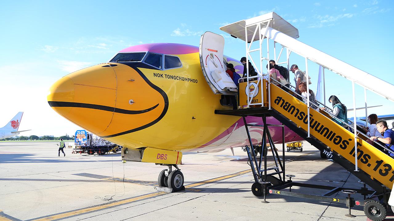 nokair ボーイング737-800型機