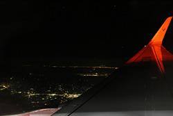 バニラエアからの夜景