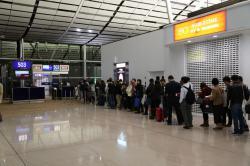 香港エクスプレス航空 搭乗開始