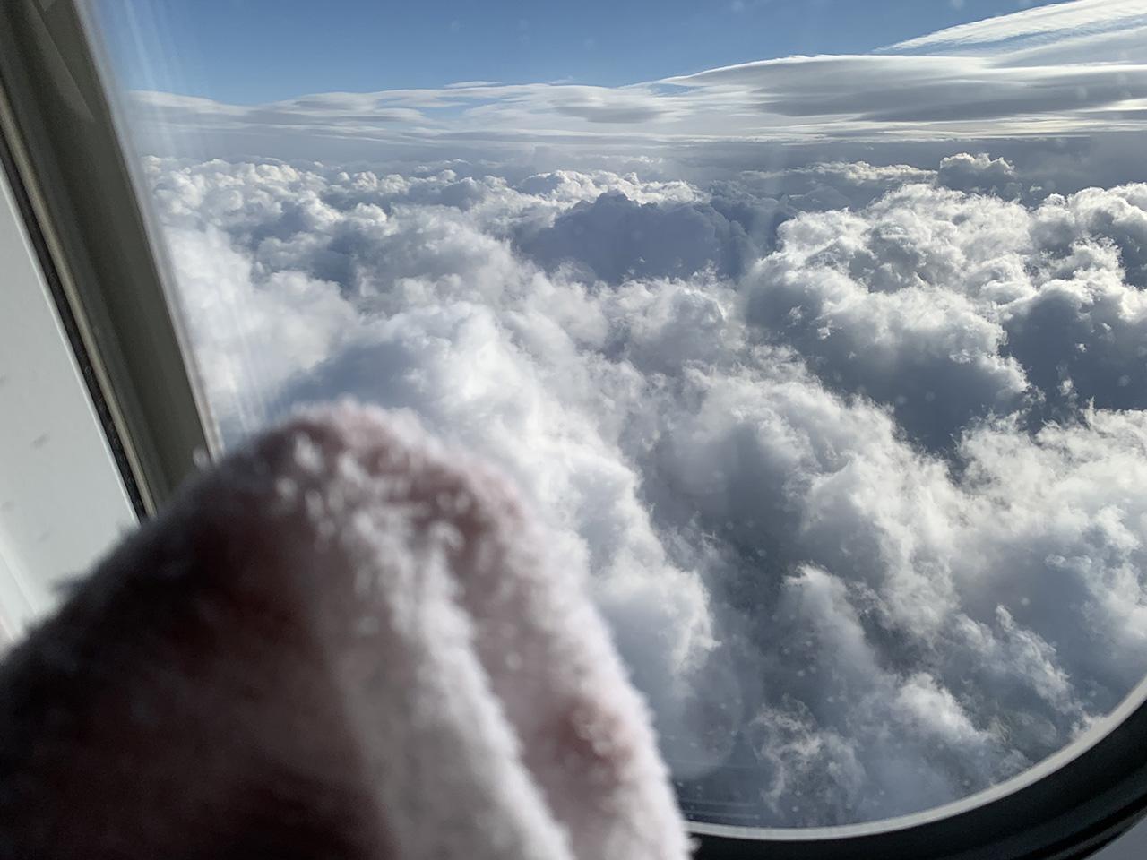 つめしぼと空と雲と私