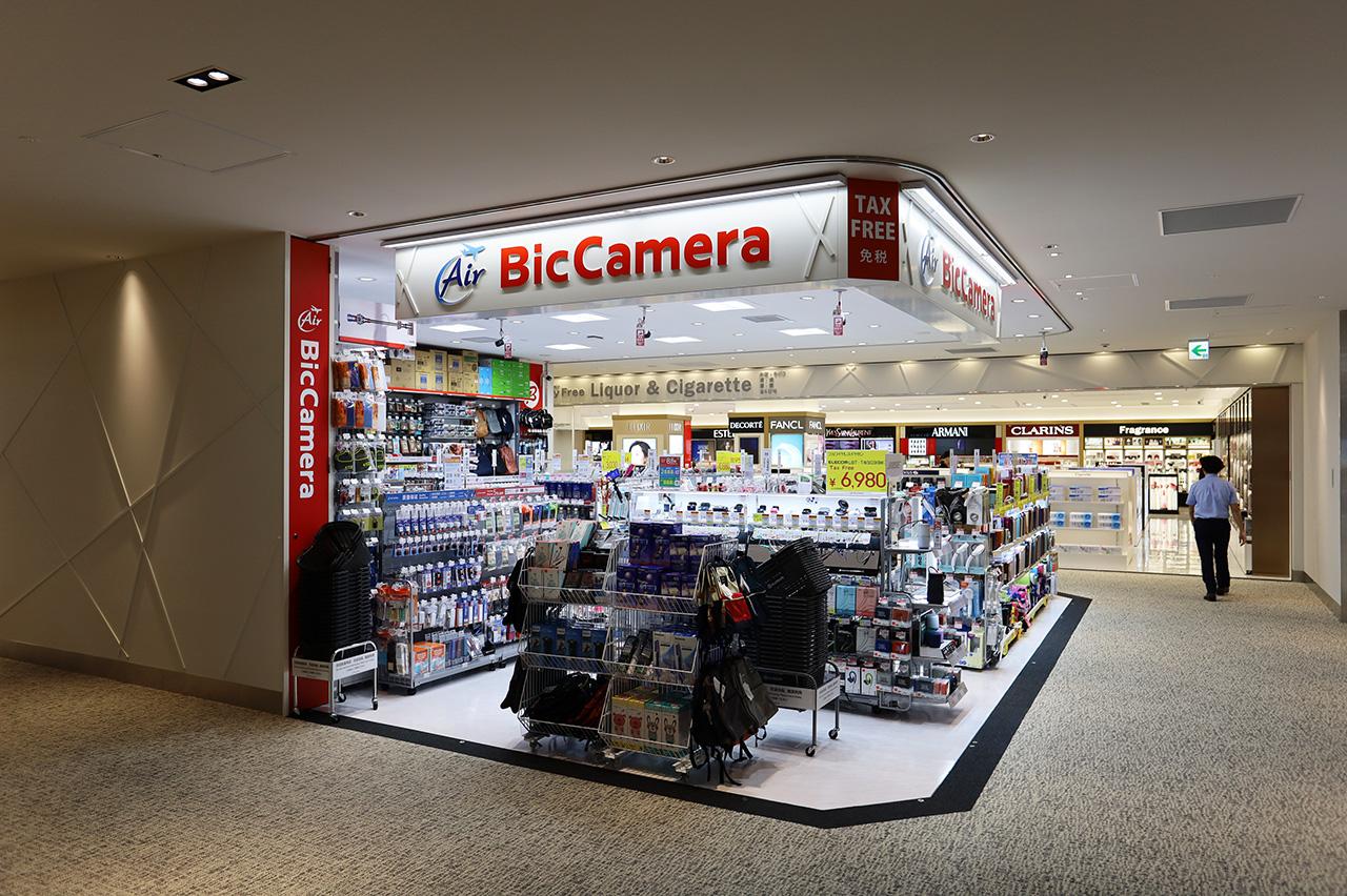 第2ターミナル 国際線 ビックカメラ