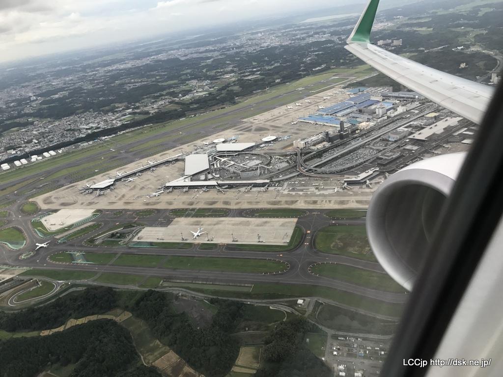 春秋航空日本 関空線就航 離陸