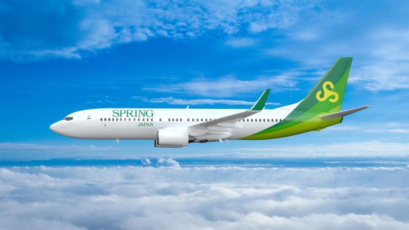 SPRING 機体新デザイン 写真提供=春秋航空日本