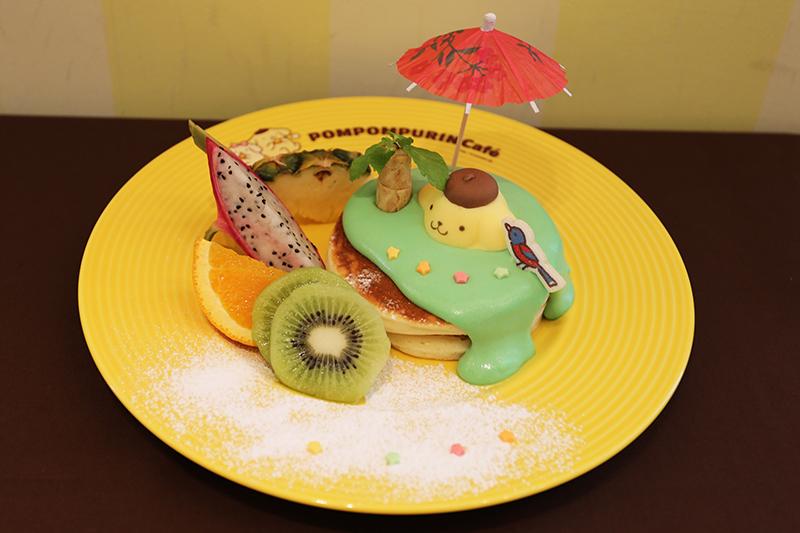 プリンくんのごきげん南の島パンケーキ