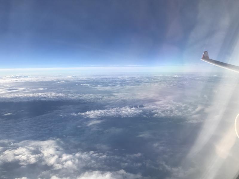 エアアジアX 機内からの眺め