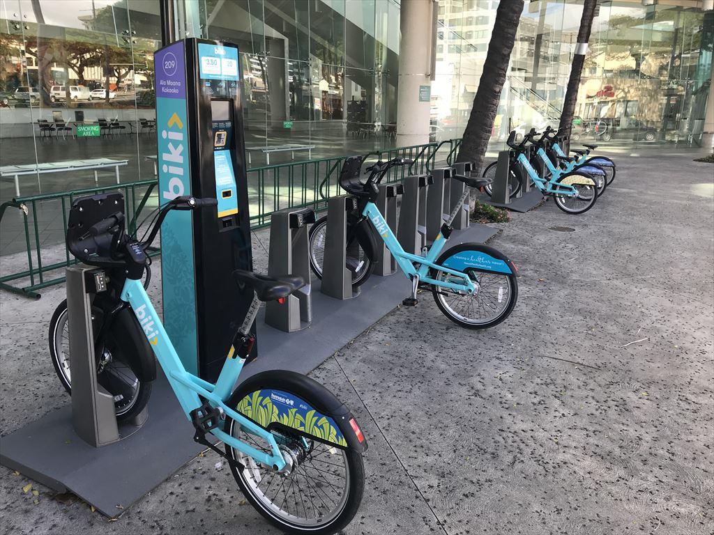 自転車シェアサービス biki